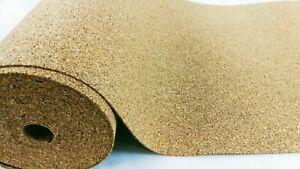 Details about Rolls Cork 2 mm thickness 30 m² Cork Roll impact sound insulation insulation underlay show original title