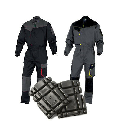 Professioneller Verkauf Delta Plus Dmcom Mens Work Overalls Boiler Suit Coveralls Mechanics + Knee Pads Moderater Preis