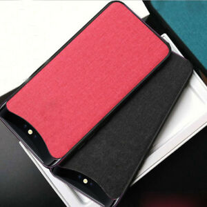 quality design 468ac 0e276 Details about For OPPO Find X Hybrid TPU+PC Cloth Shockproof Matte Slim  Protective Case Cover