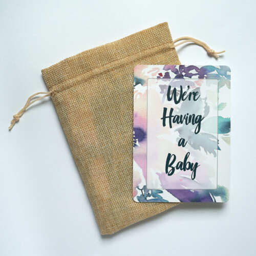 Baby Shower Gift Moment Cards Mum to be Gift Pregnancy Milestone Cards