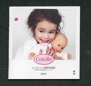 Catalogue-Poupees-Corolle-2010-Parfums-d-039-enfance-64-pages-11-5-x-11-5