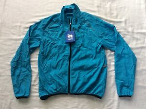 Netti-Hub-Jacket-Cycling-Men-039-s-KJ11WC-Turquoise-Size-L