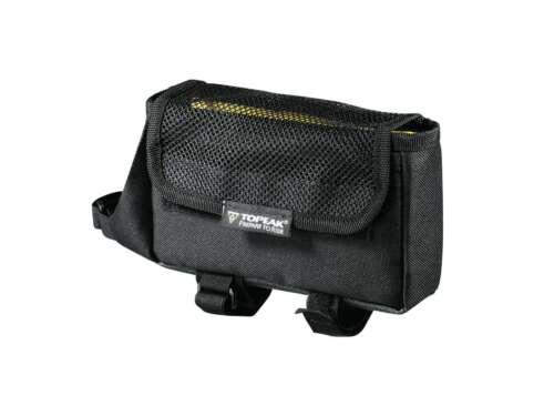 Bike Bicycle Tri Bag Pack TOPEAK TriBag Bike Top Tube Bag w//Rain Cover