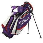 Titleist Lightweight Stand Bag Purple/Gray/Fire Red