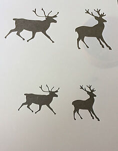 Stag Deer  Mylar Reusable Stencil Airbrush Painting Art diy