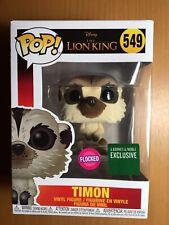 Funko Pop the LION KING-TIMON Flocked VINILE NUOVO 549