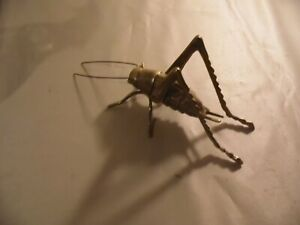 Large-Brass-Cricket-6-inch-x-3-inch-Free-Domestic-Shipping