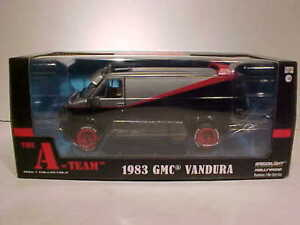 The-A-Team-TV-Show-1983-GMC-Vandura-Van-Diecast-Car-1-24-Greenlight-8-inch-84072