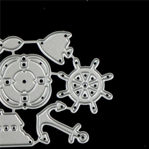 Ocean Rudder Design Metal Cutting Die For DIY Scrapbooking Album Paper CardWTUS