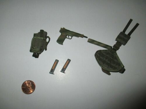 DAM Toys 1//6 Scale Russian Spetsnaz MVD SOBR Lynx 78059 8th Ann Pistolet Set