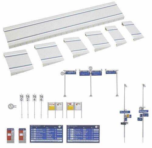 NUOVO IN SCATOLA ORIGINALE Faller 120202 marciapiedi moderne con accessori