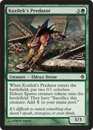 mtg LP 4 Kozilek/'s Predator Rise of the Eldrazi x4 4x