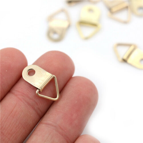 Picture Frame Hooks Triangle D Rings Hangers Frame Hanging Mirror Frame Rings