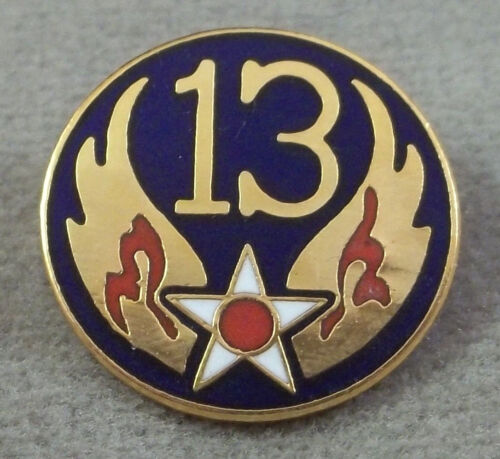 Clutchback US Army Air Force 13th Air Force Unit Crest Insignia