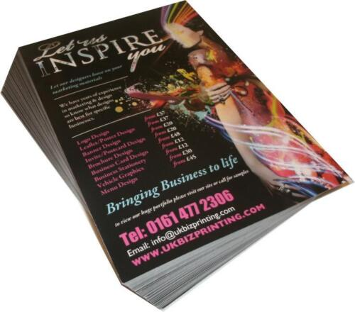 A5 Promote your business 210mm x 148mm  Printed Leaflets