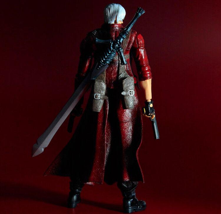 SQUARE ENIX Play Arts KAI Devil May Cry 3 Dante PVC Action Figure 9.8 no box