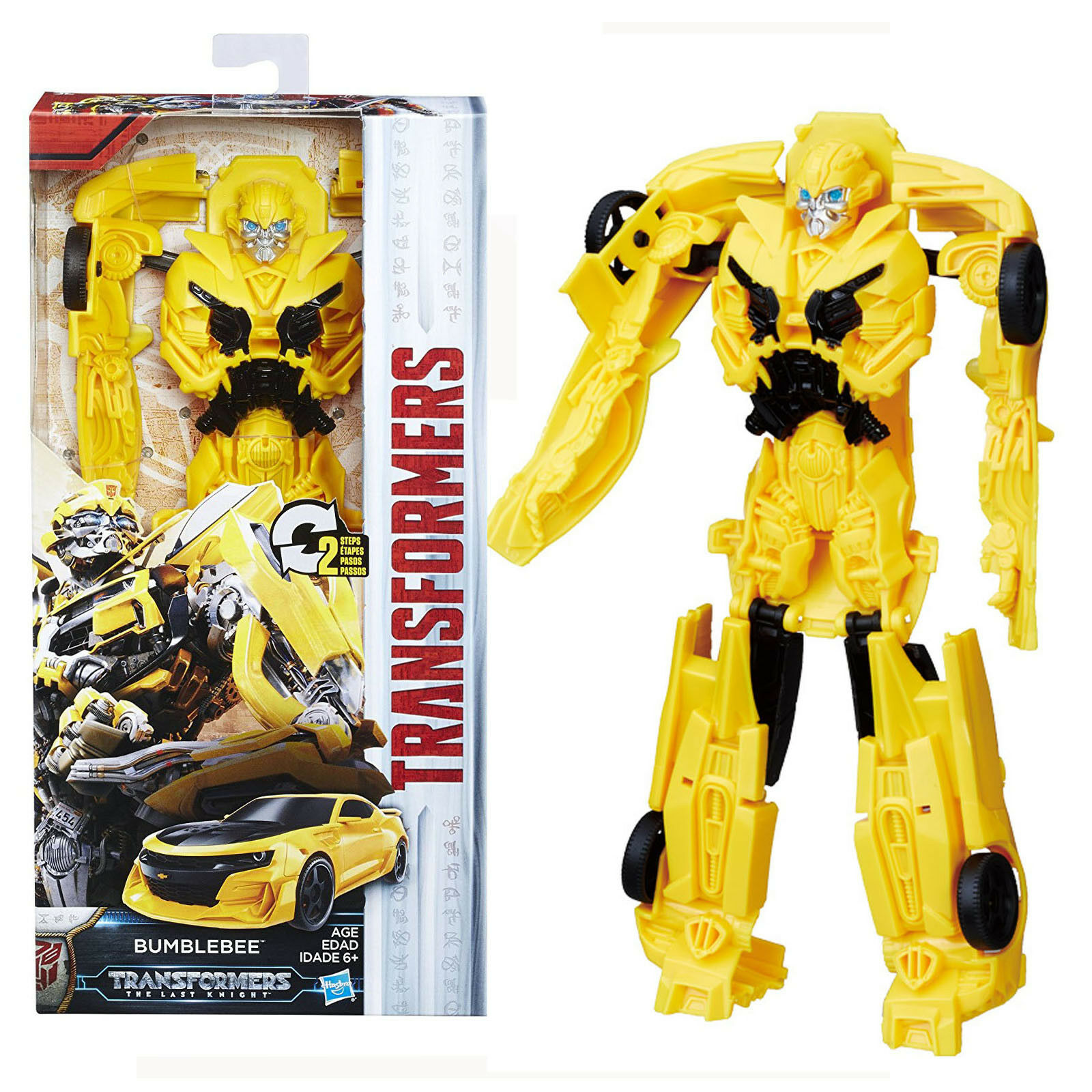 Transformers Movie 5 The Last Knight Titan Changers BUMBLEBEE Action Figure toy