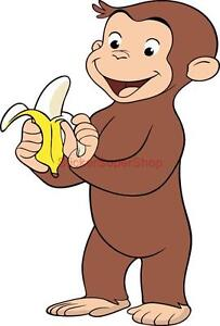 Image Is Loading Choose Size CURIOUS GEORGE Decal Removable WALL STICKER  Part 57