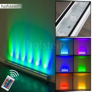 rgb led wandlampe wohn schlaf zimmer leuchte mit fernbedienung decken disco buro ebay. Black Bedroom Furniture Sets. Home Design Ideas