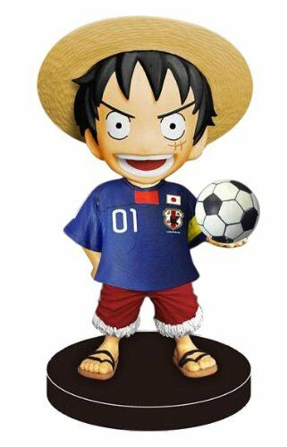 Bobbing Head ONE PIECE Series - Monkey D. Luffy Soccer Japanese National