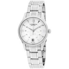 Victorinox Women's 249061 Alliance Analog Display Swiss Quartz Silver Watch