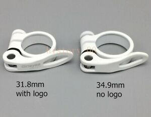 31.8//34.9mm Seatpost Clamp Mountain Road Bike Seat tube Clamp Quick Release 40g