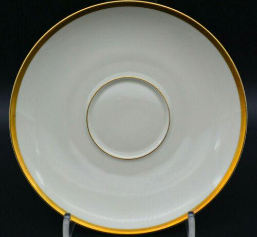 Rosenthal Aida 1473 Elfenbein Gold Untertasse zu Kaffeetasse 15,4cm Ø 1943-52