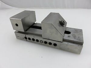 Details about Machinist Tool & Die Maker Precision Grinding Mill Drill  Press Vise 3