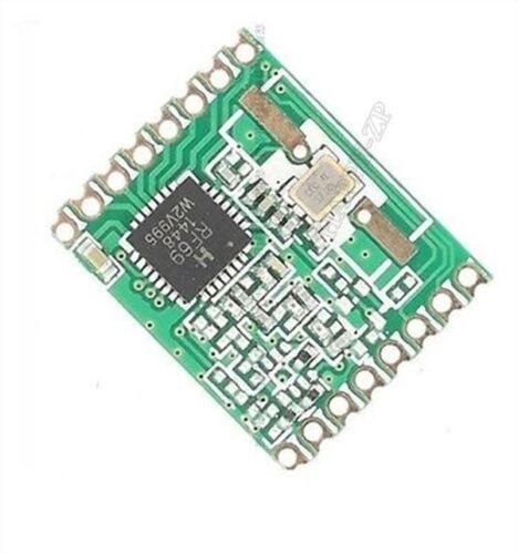 bt 1Pcs Émetteur-Récepteur Sans Fil RFM69HW 868Mhz 20Dbm Hoperf RFM69HW-868S2