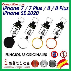 BOTON HOME PARA IPHONE 7 / 8 / PLUS / SE 2020 FLEX MENU FUNCIONES ORIGINALES V3