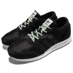 new styles 45090 a057e Image is loading adidas-Originals-Los-Angeles-Black-White-Men-Running-