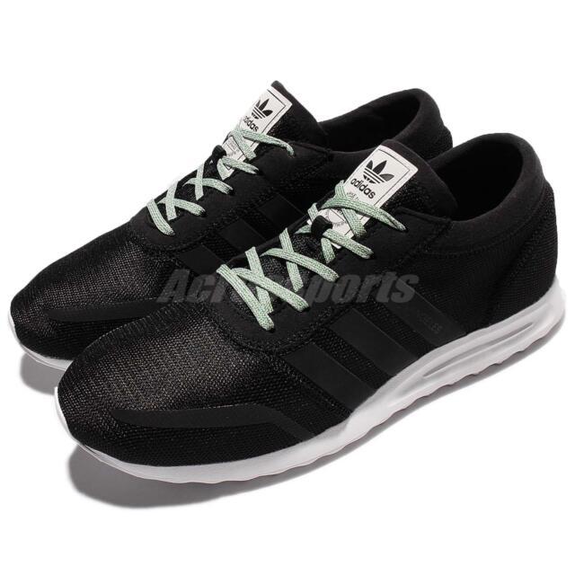 adidas Originals Los Angeles Black White Men Running Shoes Sneakers BB1116
