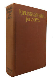 Rudyard-Kipling-KIPLING-039-S-STORIES-FOR-BOYS-1st-Edition-1st-Printing