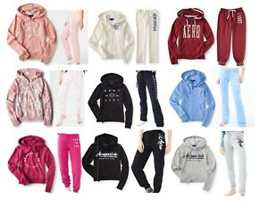 Black Pink To Have A Unique National Style Red Aeropostale Women's Hoodie & Jogger Sweatsuit Set Blue Diplomatic Nwt