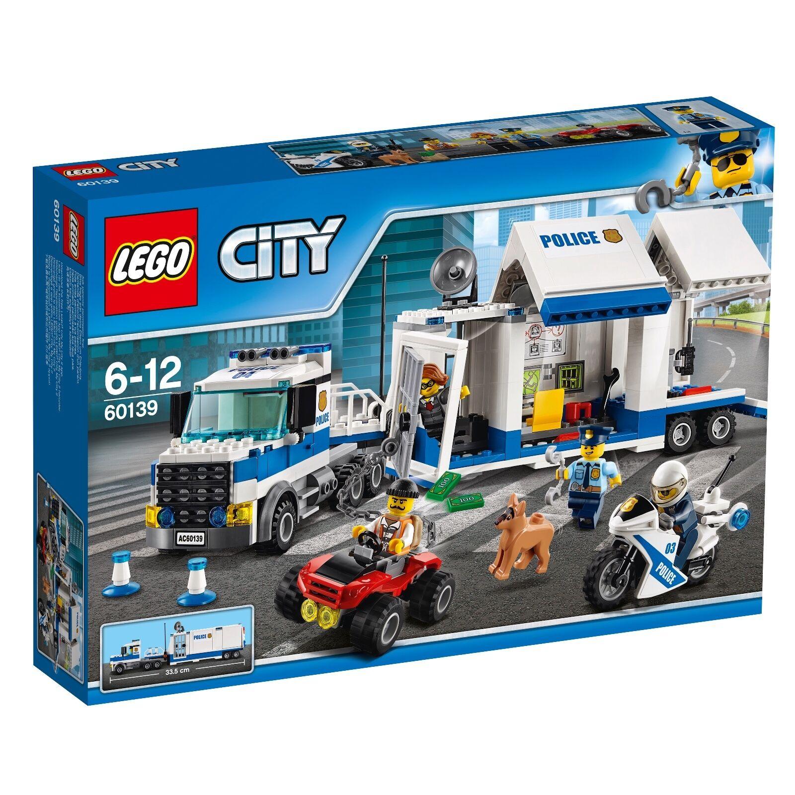 LEGO ® città 60139 mobile INSERTO  CENTRALE NUOVO OVP _ mobile Comuomod Center nuovo MISB  alta qualità