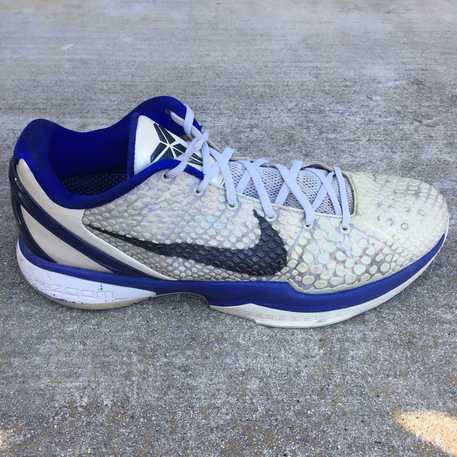 Nike Zoom Kobe h Men Sz 13 Gray Blue Black Metallic Gray Snake Skin Running Shoe Casual wild