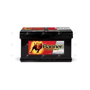 batterie voiture banner power bull p8014 12v 80ah 700a 315x175x175mm ebay. Black Bedroom Furniture Sets. Home Design Ideas