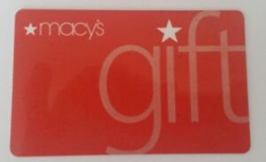 Used-MACYs-gift-card-MACY-039-s-GIFT-Early-2000s-Collectible-Only-No-Value
