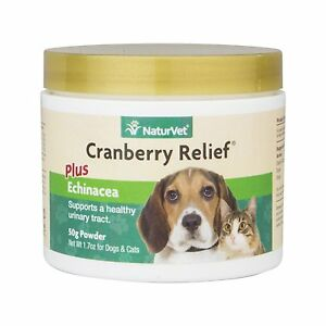 NaturVet-Cranberry-Relief-for-Dogs-amp-Cats-UTI-Urinary-Tract-Infection-50-Gram