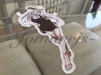 """Deadman Wonderland Anime Shiro /""""Fist Pump/"""" Sticker Decals Vinyl Wretched Egg"""
