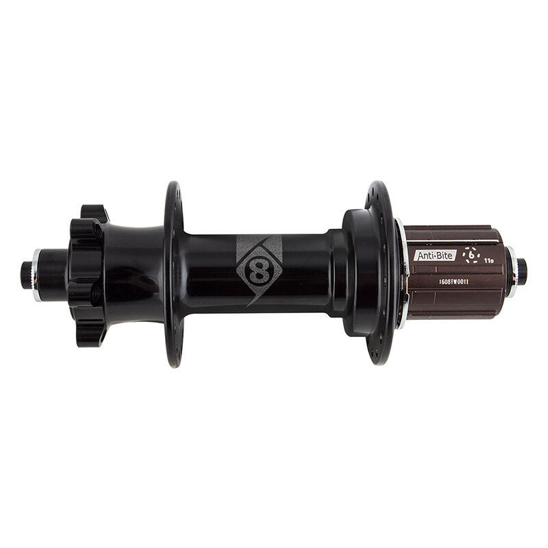 Origin - 8 FB-1110 Fat Bike Rear Hub RR QR 6b 32x170 11s Cass Shi sb BK noskewer