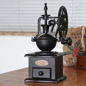 DHL Kaffeemühle Manuell Holz Hand Kaffeemühlen Retro Keramikmahlwer