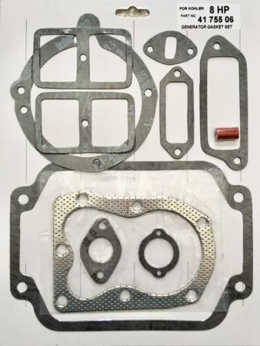 gasket set kit for Kohler K181 8hp K141 K161 7hp gasket set 41-755-06-S w// Rings