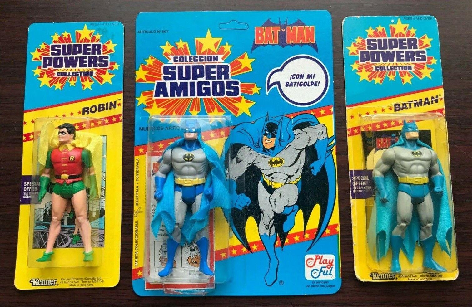 Super Powers Batman & Robin Foreign Variants