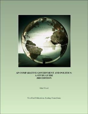 *brand New* Ap Comparative Government And Politics: A Study Guide (3rd Ed, Wood)