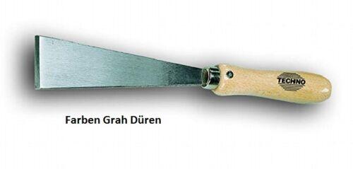 70 mm Stoßspachtel Abbrennspachtel lange steife Klinge mit angeschl Wate