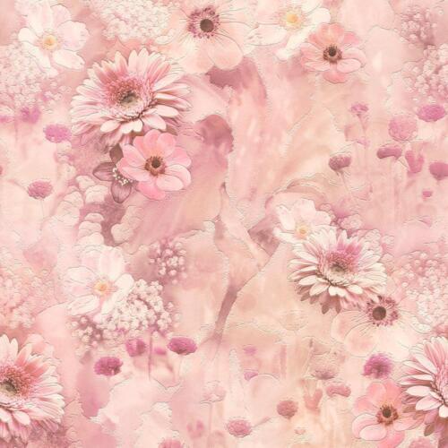 Rasch Rose Fleurs Papier Peint Cuisine Floral Rose Jardin motif en relief 893410