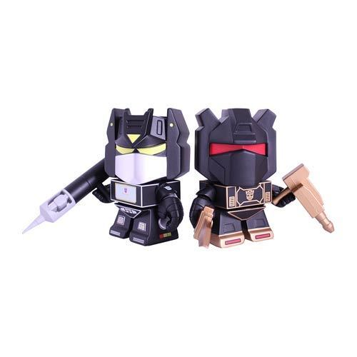 """Transformers Loyal Subjects Cybertron Grimlock /& Soundwave 3/"""" figures In stock"""