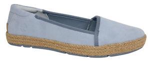 Slip scamosciata Blue Casco Shoes A17ed Flat On Bay Womens in pelle Timberland U17 XwABpg4xqg