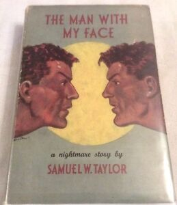 Samuel-W-Taylor-The-Man-With-My-Face-First-Edition-in-D-J-UNCOMMON